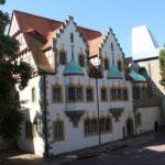 Das ursprüngliche Talamt, heute im Hof der Moritzburg