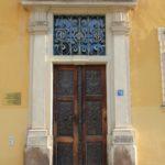 Eingangsportal Christian-Wolff-Haus