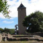 Aussichtsturm auf der Oberburg Giebichenstein