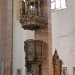 Kanzel der Moritzkirche