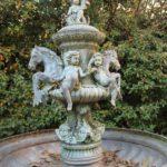 Brunnen im Innenhof des Händelhauses